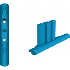 F-One Titan Mast Foot Til Foil